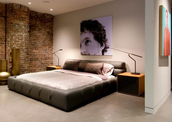 D coration murale papier peint trompe l 39 oeil effet 3d for Chambre a coucher 3d