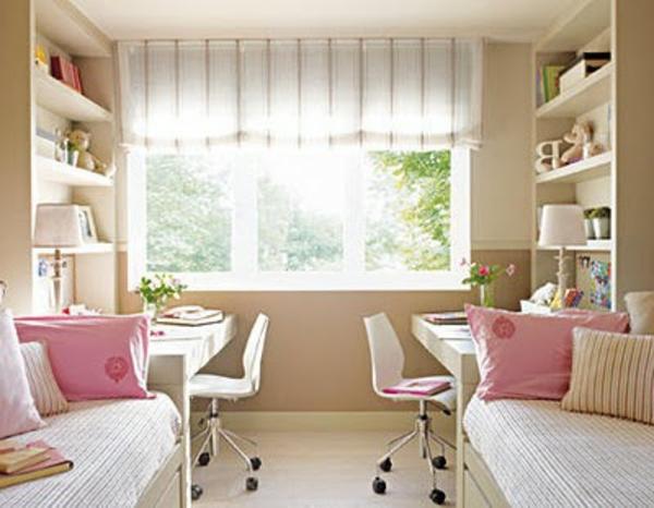 chambre-a-coucher-enfant-belle-rose-lit