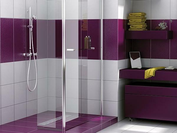 Salle de bain zen le printemps est l for Carrelage jaune salle de bain