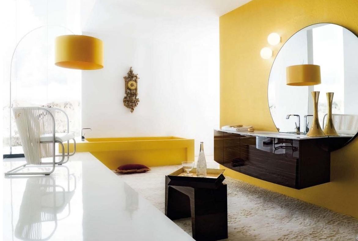 jaune-blanc-salle-de-bain-zen