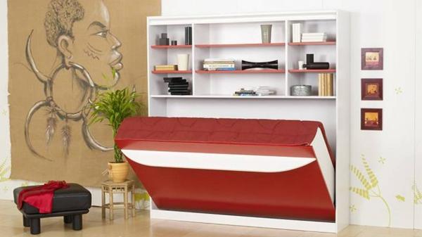 lit-escamotable-rouge-blanc-contamporain