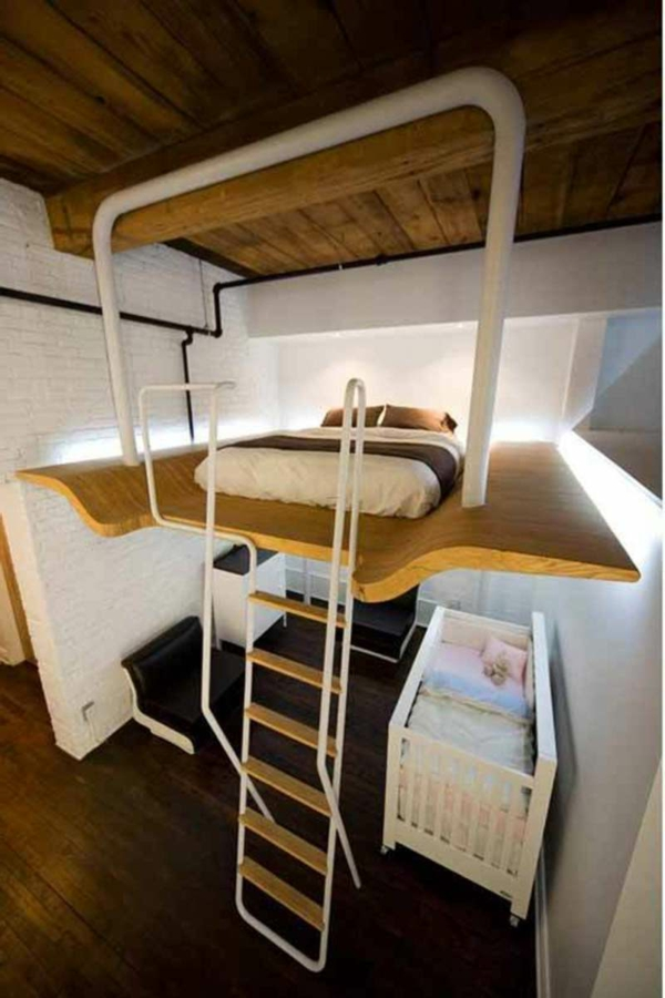 Small Room Loft Design Ideas by L. McComber Architects