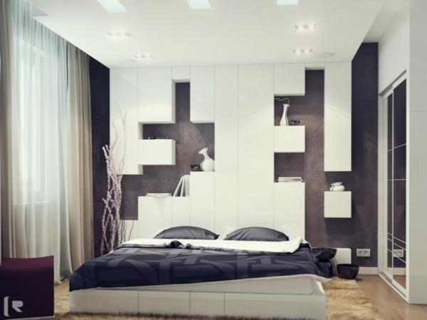 minimaliste-chambre-a-coucher-blanc-décoration