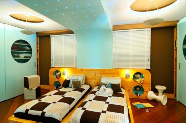 moderne-chambre-a-coucher-colorée