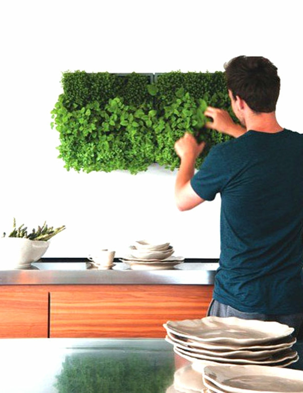 d coration murale pour la cuisine 26 id es. Black Bedroom Furniture Sets. Home Design Ideas