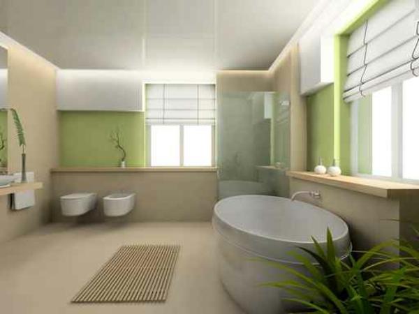 Salle de bain zen le printemps est l for Salle de bain zen moderne