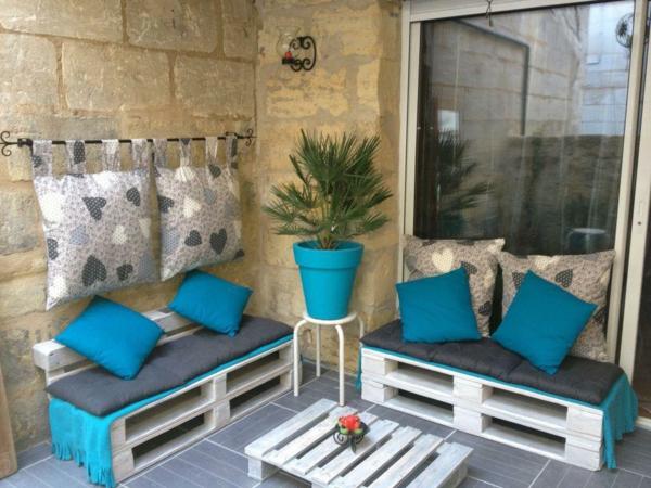 Stunning Salon De Jardin Palette Bleu Gallery - Amazing House Design ...