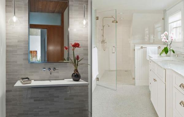 salle de bain zen le printemps est l. Black Bedroom Furniture Sets. Home Design Ideas
