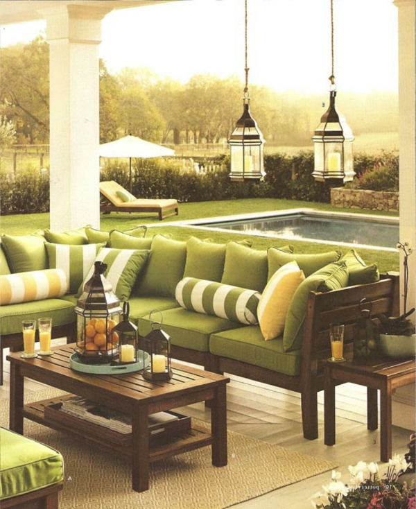 vert-modern-salon-de-jardin-piscine-