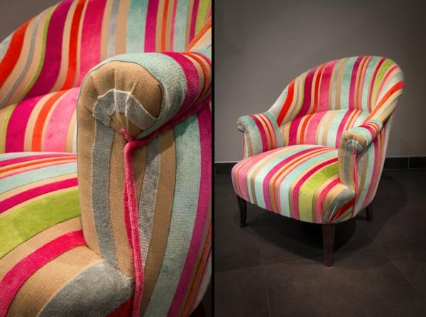 Le fauteuil crapaud new looks frais et color s - Fauteuil crapaud moderne ...