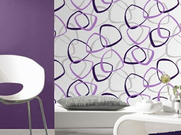 Papier peint chambre moderne fille design de maison for Papier peint chambre moderne
