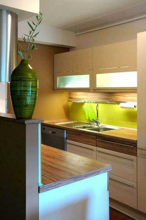 Comment amenager une petite cuisine for Petite cuisine minimaliste