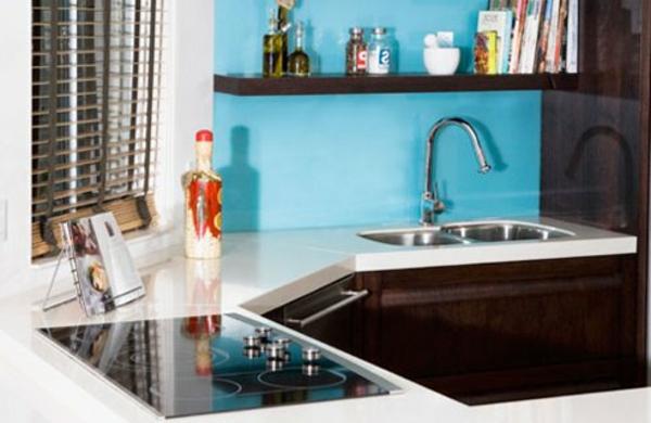 Comment amenager une petite cuisine - Petite cuisine d angle ...