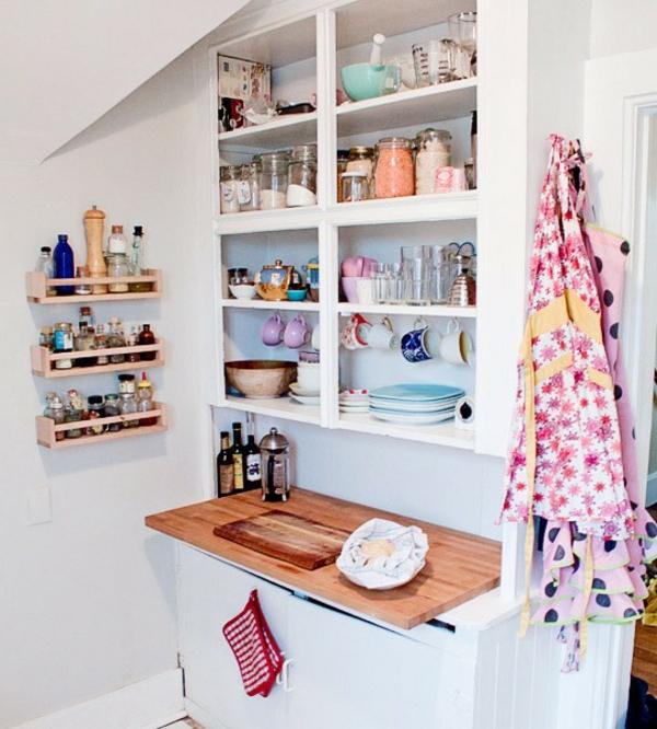 amenager-une- petite-cuisine-pas-cher-ikea-deco-étagère