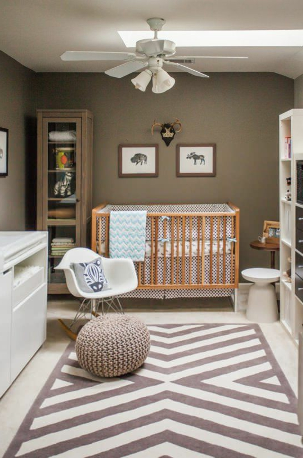 D corer la chambre b b gar on conseils et exemples - Peinture pour meuble bebe ...
