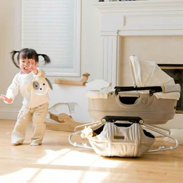 berceau-design-fille-bébé-chambre
