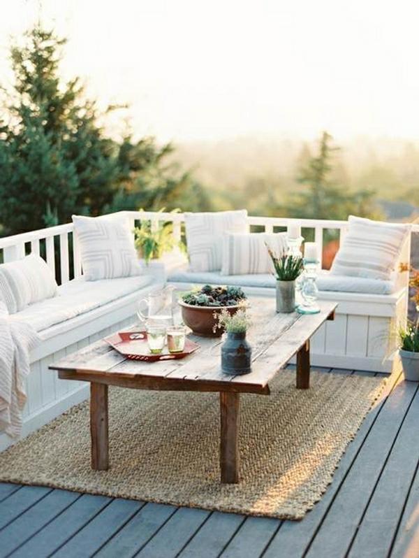 l 39 am nagement d 39 un petit balcon id es pour la petite. Black Bedroom Furniture Sets. Home Design Ideas