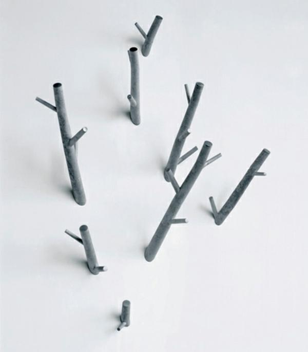 Nouveaut pour l 39 entr e un arbre porte manteau for Porte manteau contemporain bois