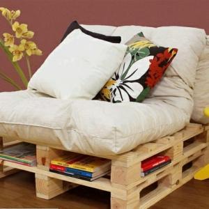 Le canapé en palette - nos nouvelles idées de récup