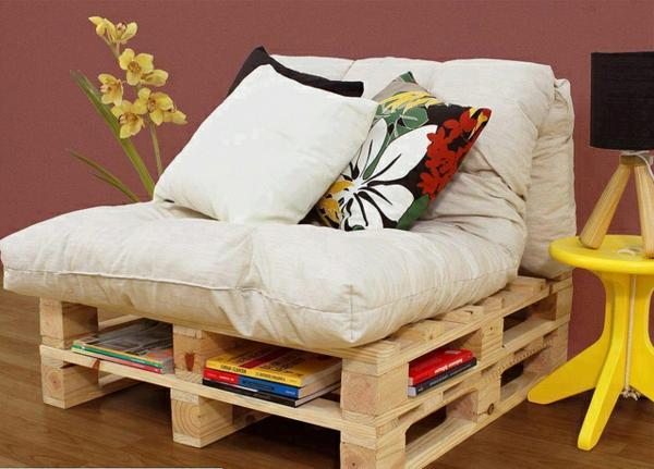 Le canap en palette nos nouvelles id es de r cup Comment fabriquer fauteuil palette idees