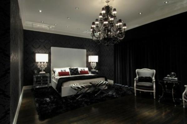 chambre-à-coucher-adulte-style-gotique-lit-blanc