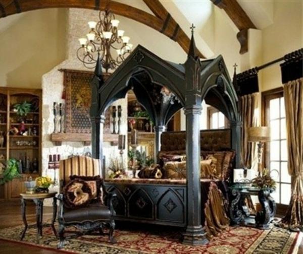 chambre-à-coucher-adulte-style-gotique-original-riche