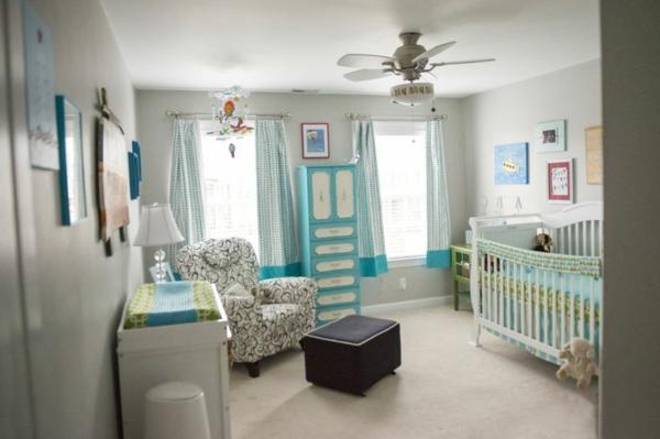 D corer la chambre b b gar on conseils et exemples for Idee peinture chambre bebe garcon