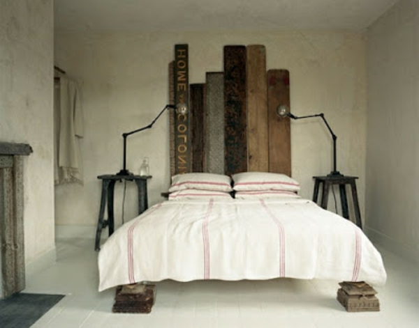 r cup palettes 34 chambres coucher la t te de lit palette. Black Bedroom Furniture Sets. Home Design Ideas