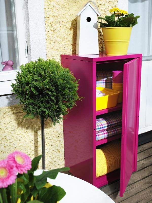 coloré-amenagement-balcon-pour-étagère