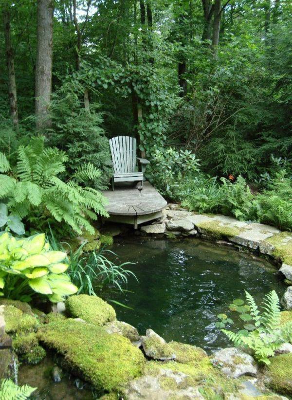 27 id s pour le bassin de jardin pr form hors sol for Bassins de jardin photos