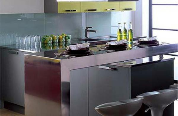 Comment amenager une petite cuisine - Petite cuisine ilot ...