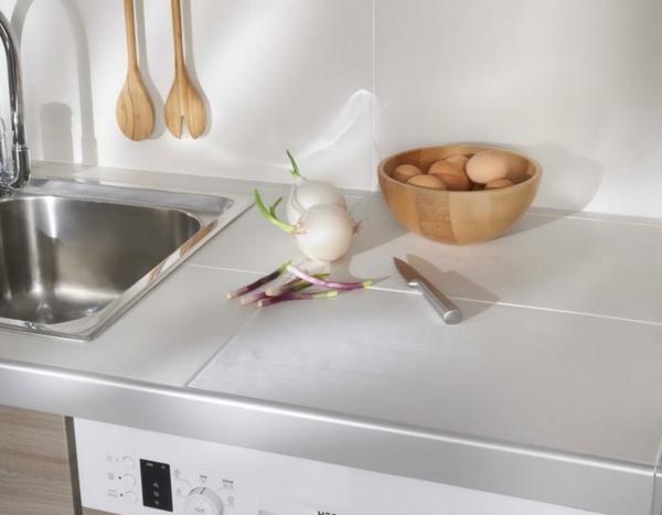 lavabo blanc cuisine