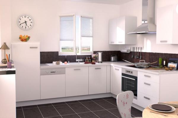 Une cuisine lapeyre mod le de style et confort for Cuisine modele