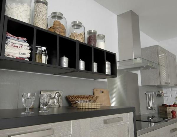 cuisine-lapeyre--noir-étagère