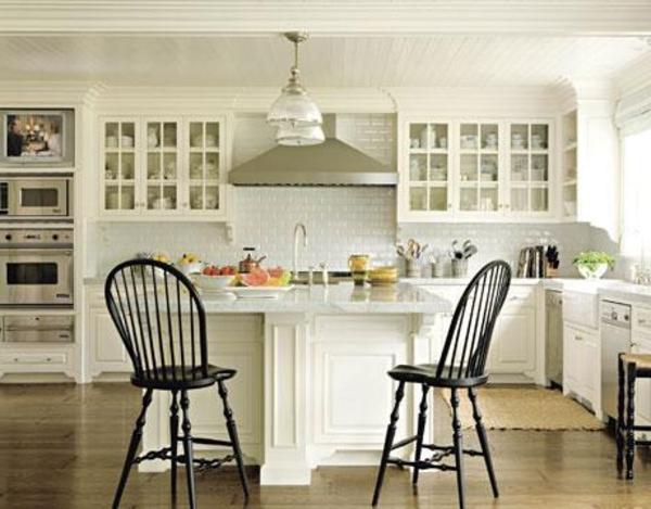 Salon Moderne Gris Blanc Et Noir : îlot central cuisine ikea et autres l'espace de cuisson