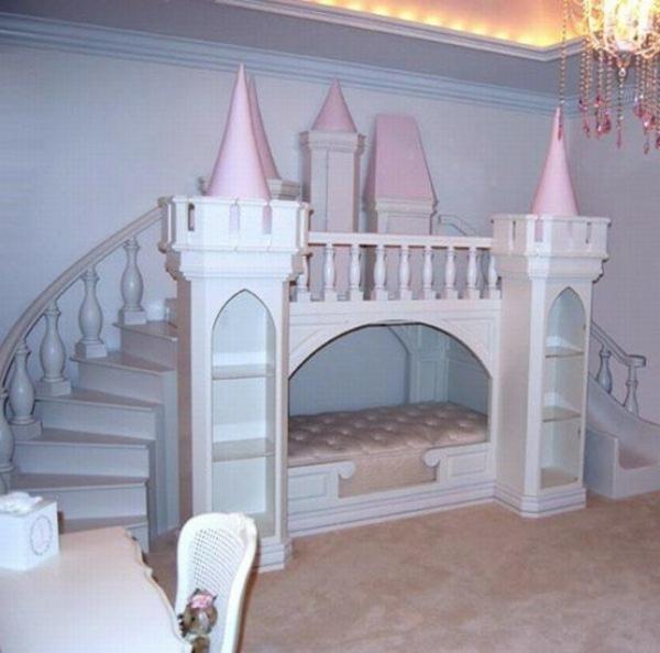 Idee Deco Chambre Fille Rose Et Gris : Décoration chambre fille bébé : chambre bébé fille deco