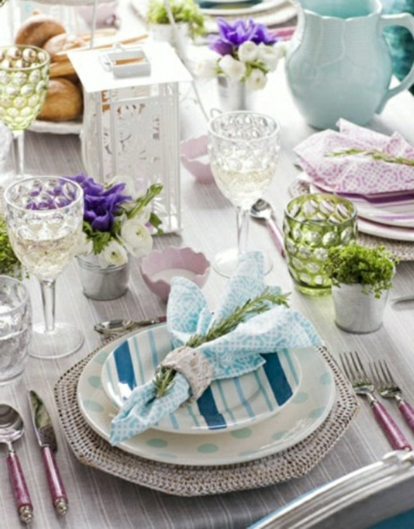 Comment d corer une table souffle de printemps 58 photos - Decoration de table originale ...