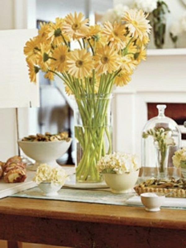 décorer-table-originale-grande-vase-