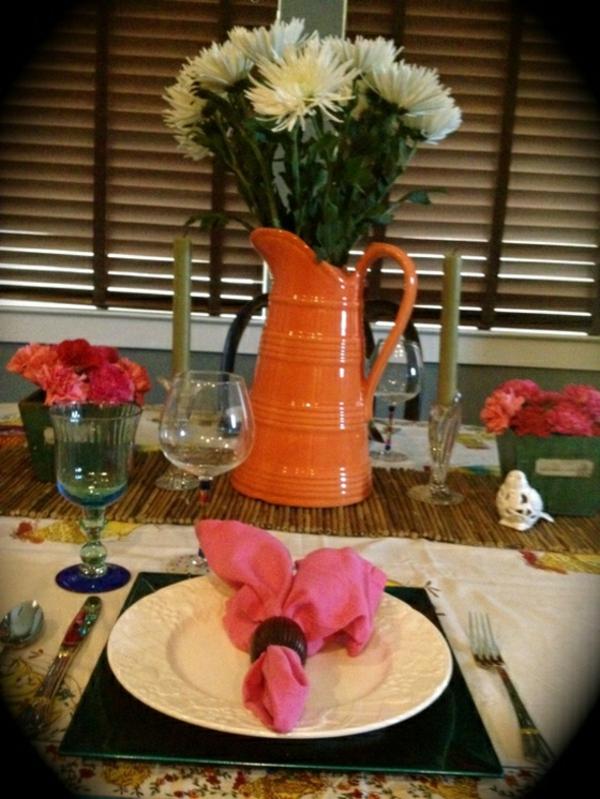 décorer-table-printemps-deco-fleurs