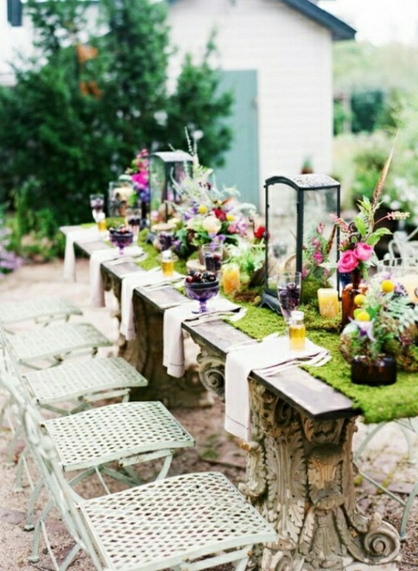 Comment Decorer Une Table De Jardin