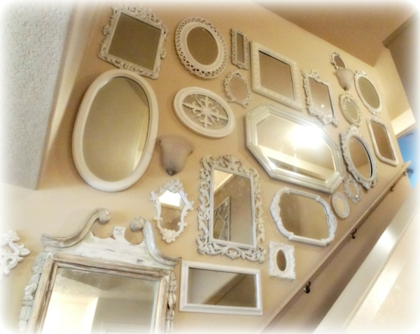 Le grand miroir mural 25 id es pour d 39 arrangement et for Decoration de miroir
