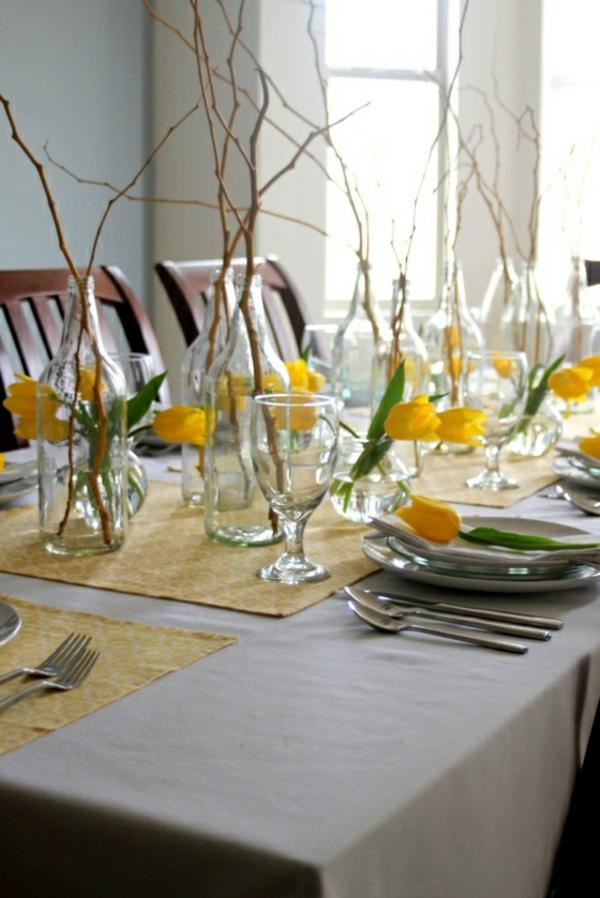 decoer-une-table-fleurs-jaunes