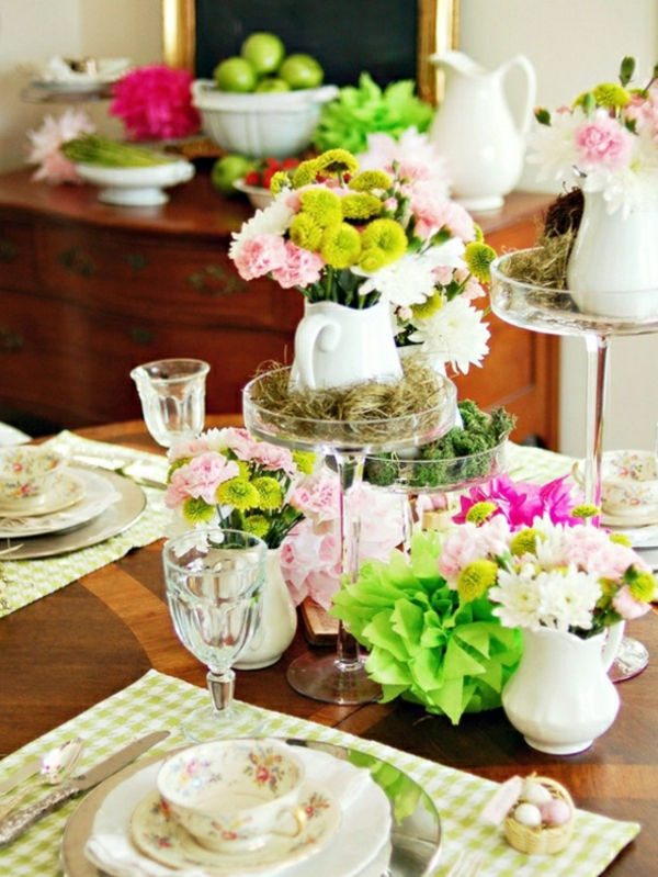 Comment d corer une table souffle de printemps 58 photos - Decoration table printemps ...