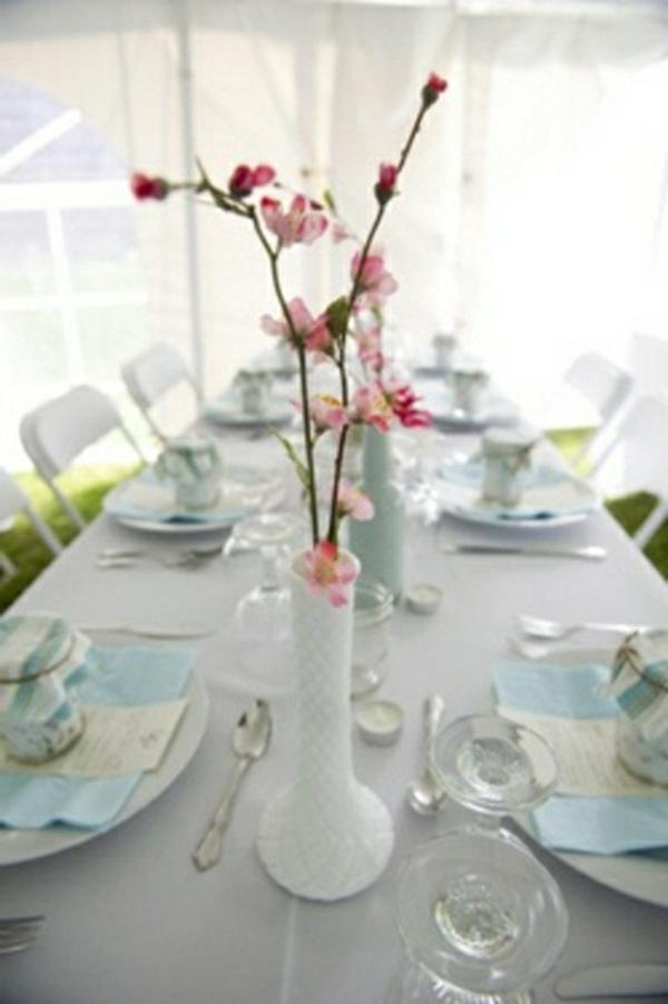 decorer-une-table-décorée-printemps