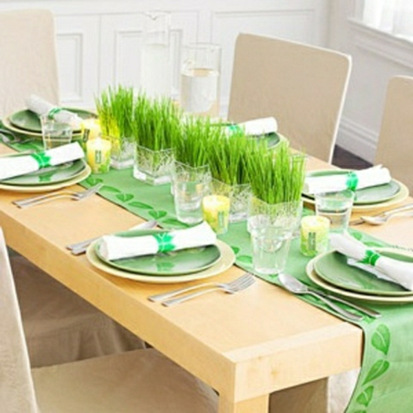 decorer-une-table-herbes-vertes-