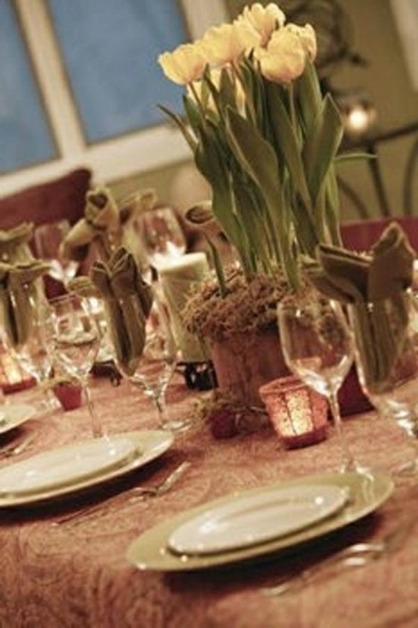decorer-une-table-interessante-décorée