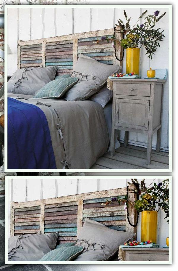 R cup palettes 34 chambres coucher la t te de lit palette - Chambre a coucher pas chere ...
