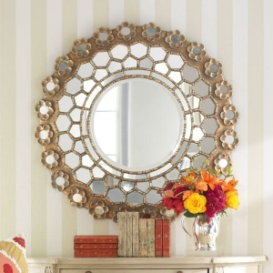Le grand miroir mural -25 idées pour d'arrangement et décoration