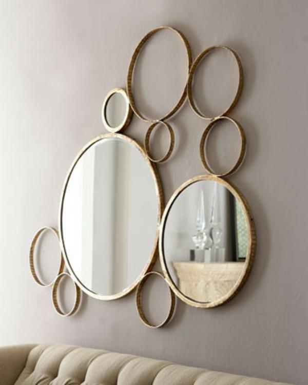 Miroir tableau pinterest - Grand miroir mural rectangulaire ...