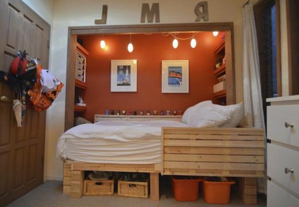 idées-déco- chambre-ado-garçon-orange-palette-